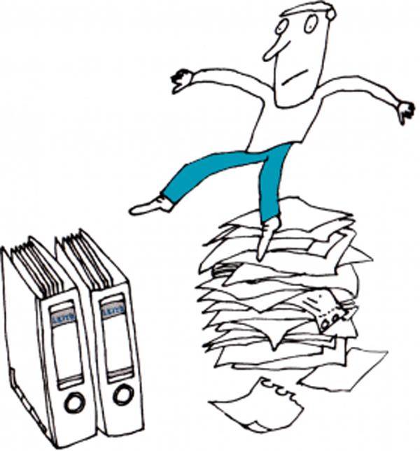 Privatunterlagen – Ihre ganz persönliche Ablagestrukur